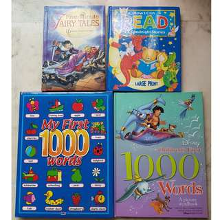 Cheap children's books - 4 for $8
