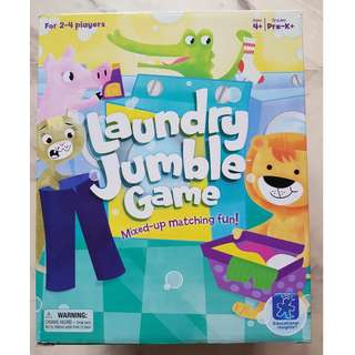 Educational Insights Laundry Jumble Game (3+ years)