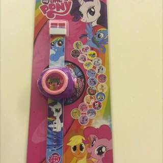 Birthday Party Gifts: Pony Projector Watch