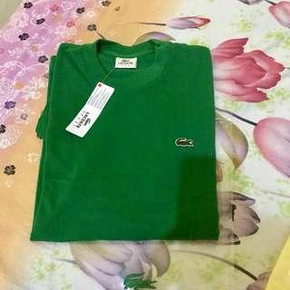 Lacoste shirt for men size 5 brandnew
