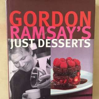 Gordon Ramsay's Desserts Recipe Book