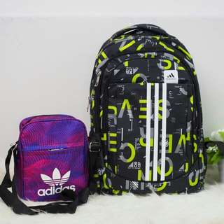 Adidas Backpack 2 in 1