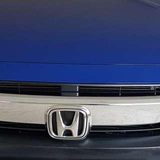 Honda Civic fc 2016 2017 original factory chrome front grille w/ emblem