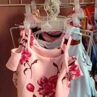 Floral Offshoulder for kids