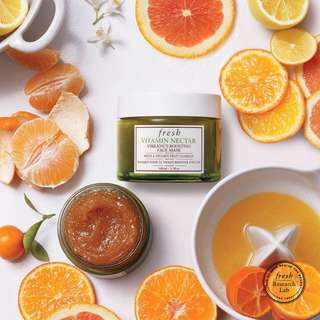 Fresh vitamin nectar vibrancy boosting face mask 30ml