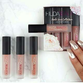 Hudabeauty Love Matte Collection 4in1