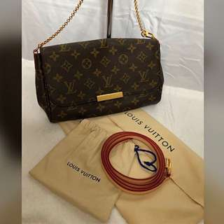 Authentic Louis Vuitton Favorite Monogram MM