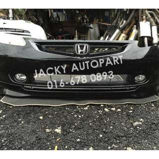Front Bumper Depan Honda Jazz Fit Gd Vtec Japan