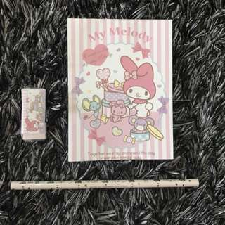 My Melody notebook set