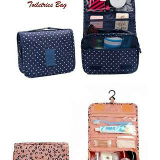 Korean travel toiletries bag tas kosmetik dan make up