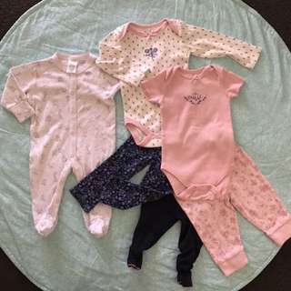Baby Girl Bundle - All for $10 (Newborn +)