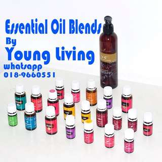 Essential Oil Blends by Young Living 10ML