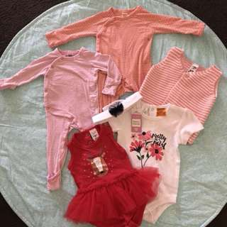 Baby Girl Bundle - All for $5 (000 - 1yr)