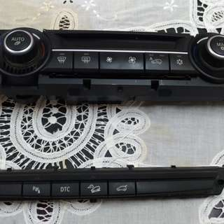E70 X5 冷氣控制面板