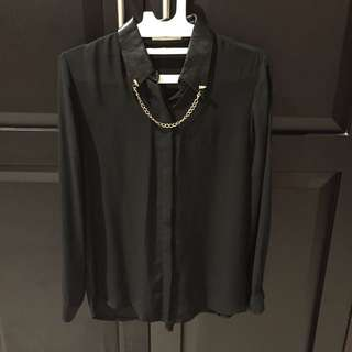 Black shirt size Allsize fit to L