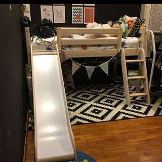 Further Reduced! Kids Haven Low Loft Bed (Mod Bed)