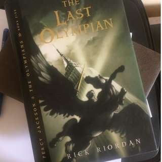 PERCY JACKSON THE LAST OLYMPIAN HARD BOUND
