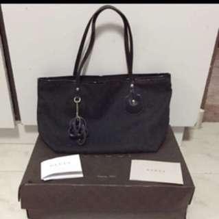 100% Auth Gucci Tote Bag