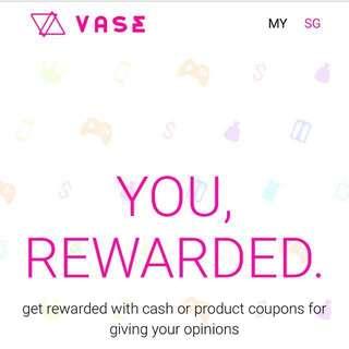 Vase Survey Referal