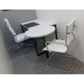 3 SET CUSTOMIZE L TYPE EXECUTIVE TABLE--KHOMI