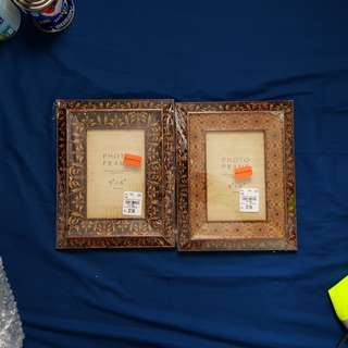 2 pcs 4x6 photo frame