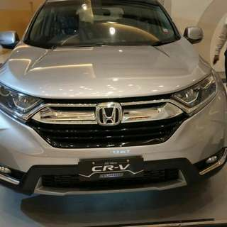 CRV Turbo NIK 2017 Ready Unit!!