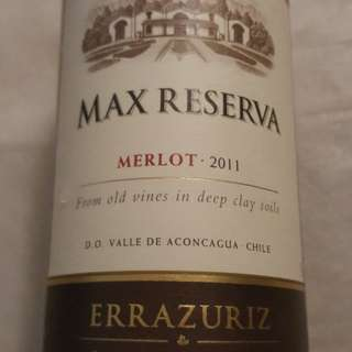 Chilean red wine - Errazuriz