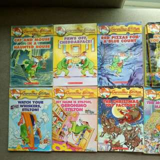 Geronimo Stilton Books Pre-Loved