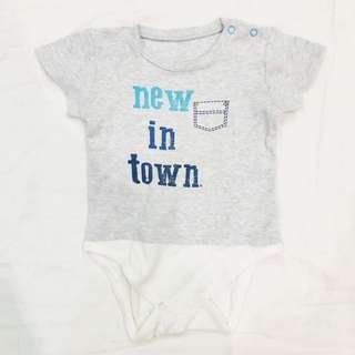 Mothercare New in town onesies