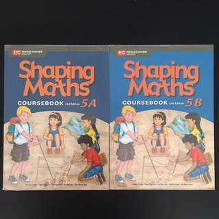 P5- 5A&5B Shaping Maths Coursebook (2nd edition)