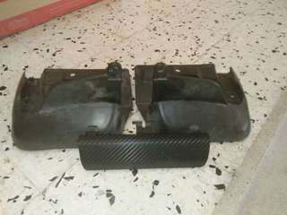 Rear bumper mudflap 2nd model + towing cover 2nd model kelisa.