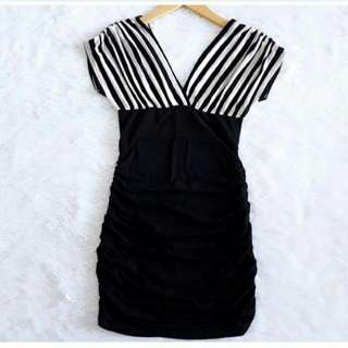 Upper Stripe Bodycon