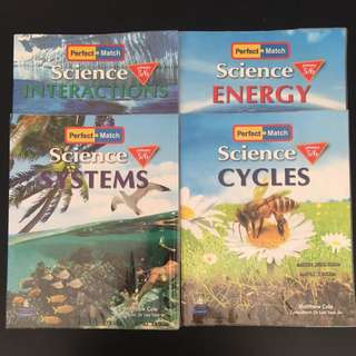 Perfect Match Science (P5&6) - 4 books