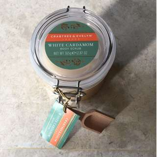 new Crabtree & Evelyn body scrub for sale
