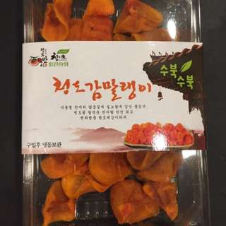 韓國直送🇰🇷天然無添加柿餅乾