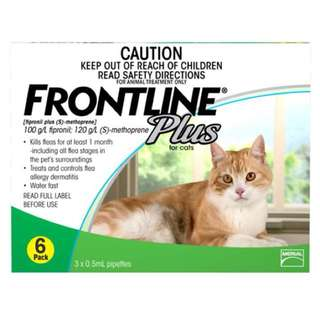 Frontline Plus For Cats 6s - $55.00