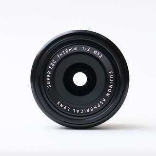 Fujifilm Fujinon 18mm F2 R