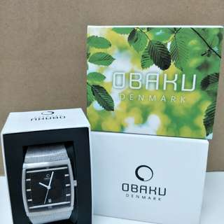 Offer-Obaku Men's Classic Wrist Watch