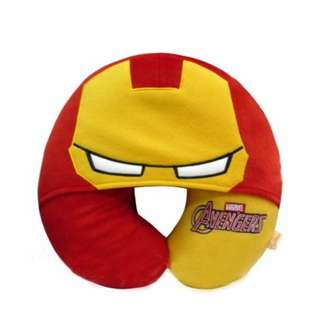 Iron man neck pillow