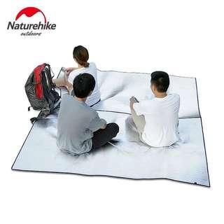戶外野餐墊防潮墊加厚2米*2米雙面鋁膜大露營地墊帳篷地席