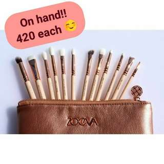 Zoeva 12pcs Eye Brush Set