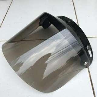 kaca helm bogo flat