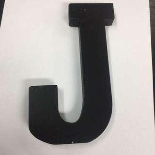 Block letter J