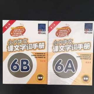 小六华文课文字词手册 6A & 6B (修订版)