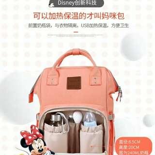 Disney Mummy bag mother bag multi-function high-capacity shoulders travel Mommy backpack fashion mom bag