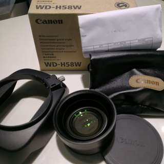 Canon WD-H58W 廣角鏡
