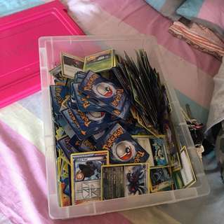 Box of pokemon card