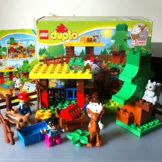 Lego Duplo Forest Animals 10582