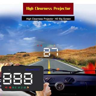 Car Speedometer Heads Up Display (HUD) dual function using GPS chip
