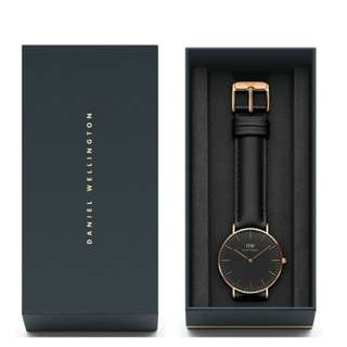 PROMO!!! DANIEL WELLINGTON SHEFFIELD 36mm ORIGINAL